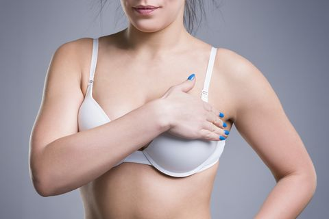 Breast pain before mammoplasty